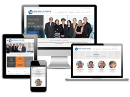 Logo and web design for San Francisco law firm