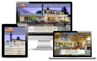 Custom responsive website for construction company