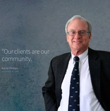 Logo and web design for a law firm